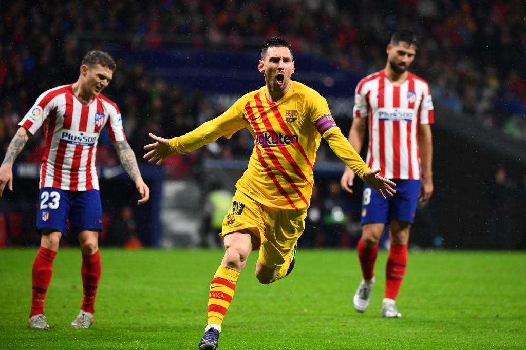 ميسي يقود برشلونة لفوز ثمين على أتلتيكو مدريد