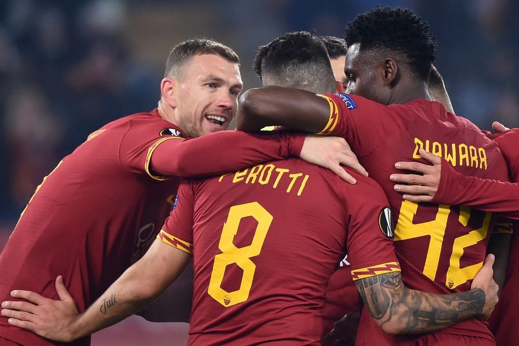 روما يضمن يتأهل للدور الثاني من الدوري الأوروبي