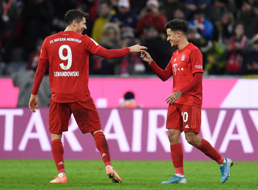 بايرن ميونخ يسحق بريمن بسداسية في الدوري الألماني