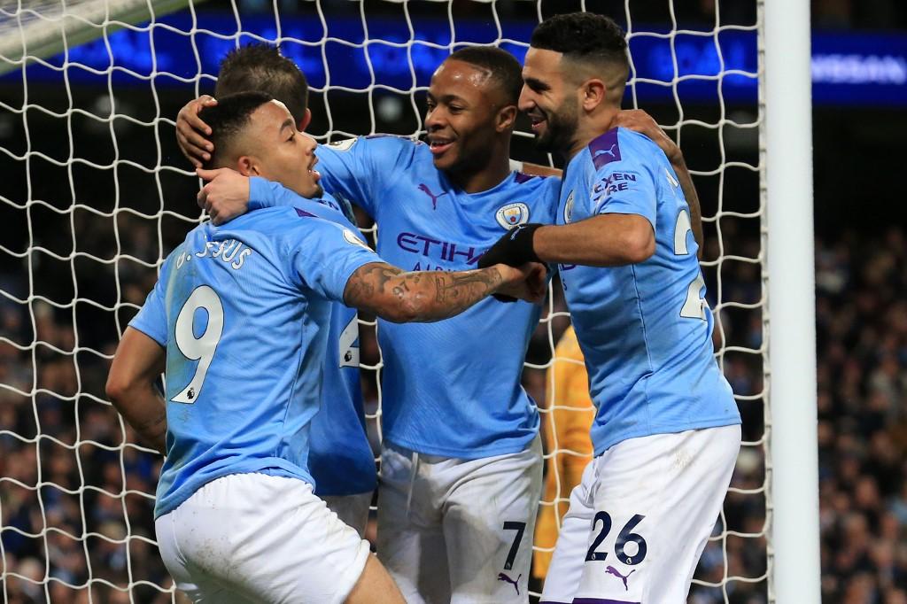 مانشستر سيتي يتغلب على ليستر سيتي في الدوري الإنجليزي