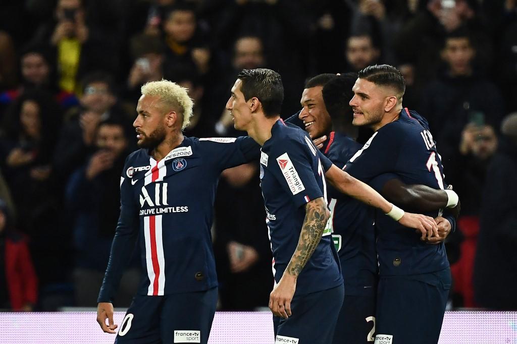 باريس سان جيرمان يضرب سانت إيتيان بسداسيه في كأس الرابطة الفرنسية