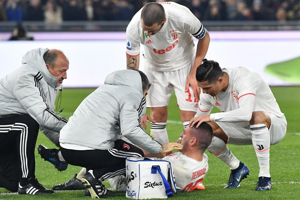 رسمياً … يوفنتوس يعلن إصابة التركى ديميرال بالرباط الصليبي