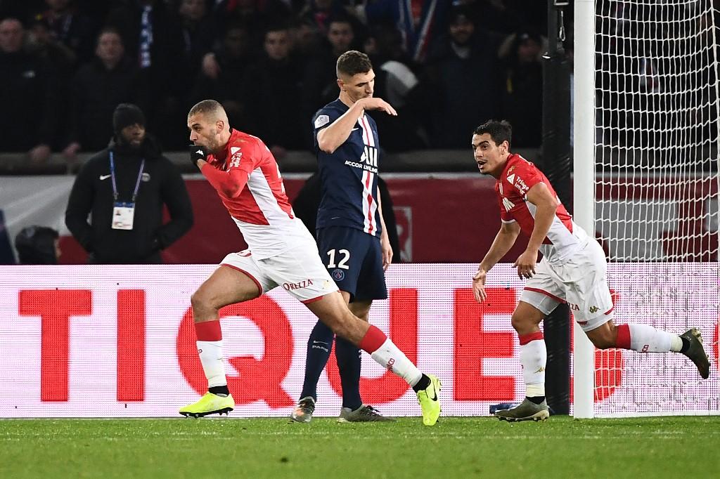 موناكو يخطف تعادلاً مثيراً من باريس سان جيرمان
