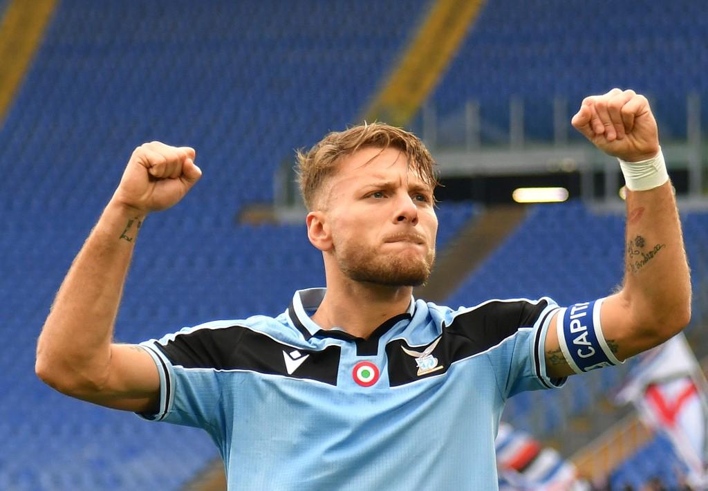 لاتسيو يكتسح سامبدوريا بخماسية في الدوري الإيطالي