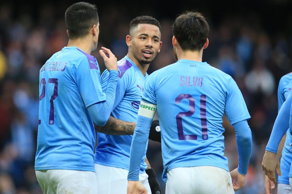 مانشستر سيتي يضرب شباك فولهام برباعية في كأس الاتحاد الإنجليزي