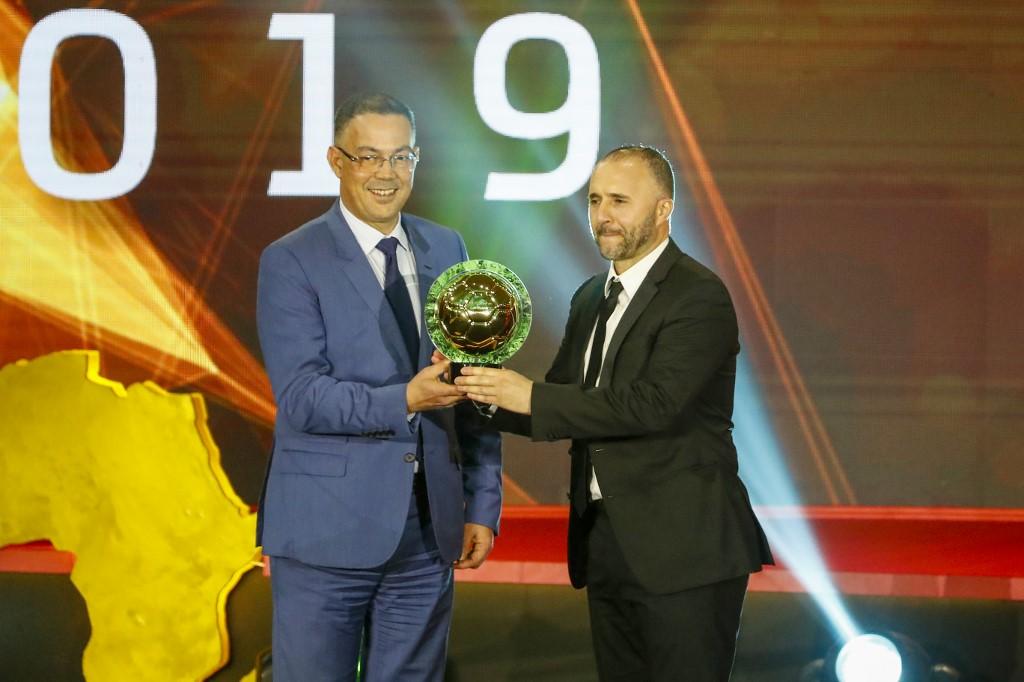 رسمياً … جمال بلماضي أفضل مدرب في أفريقيا لعام 2019